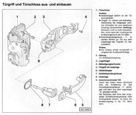Schliesszylinder Ausbauen Technik Vw Lupo Forum Seat Arosa Forum
